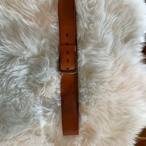 Lucky Brand women's belt, cognac. New without tags